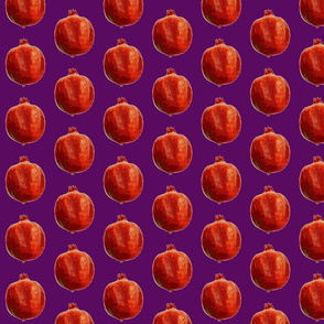 Pomegranates pur lilac