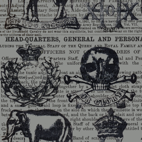 regiment_grey fabric by susiprint on Spoonflower - custom fabric