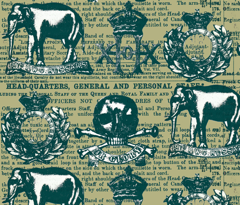 regiment3 fabric by sydama on Spoonflower - custom fabric