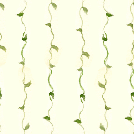Vine Stripe fabric by countrygarden on Spoonflower - custom fabric