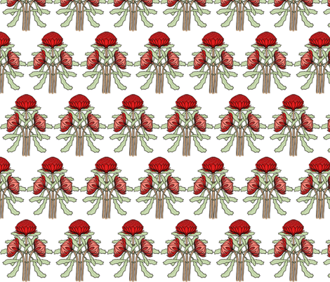 Waratahs fabric by su_g on Spoonflower - custom fabric