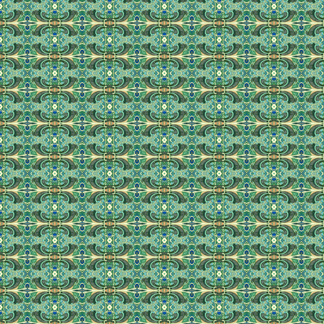 How Green Was My Freeway Offramp fabric by edsel2084 on Spoonflower - custom fabric