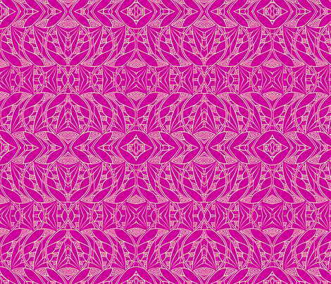 Dark & Light (strong pink) fabric by mbsmith on Spoonflower - custom fabric