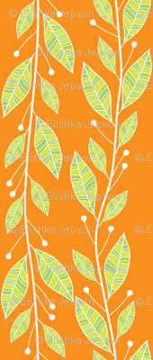 Viney Leaves (Orange)