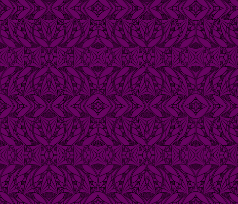 Dark & Light (magenta-black) fabric by mbsmith on Spoonflower - custom fabric