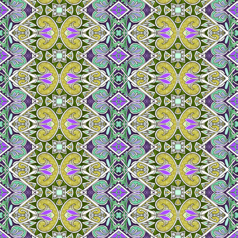 Please Pass the Pea Soup fabric by edsel2084 on Spoonflower - custom fabric