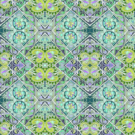 Knights of the Emerald City fabric by edsel2084 on Spoonflower - custom fabric