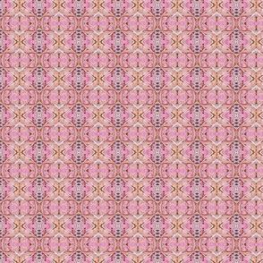 Teeny Tiny Classical Print (diagonal, red)
