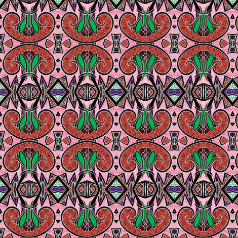 Floor Tile Serenade fabric by edsel2084 on Spoonflower - custom fabric