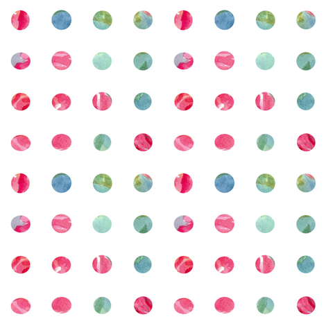Rose Dot fabric by countrygarden on Spoonflower - custom fabric
