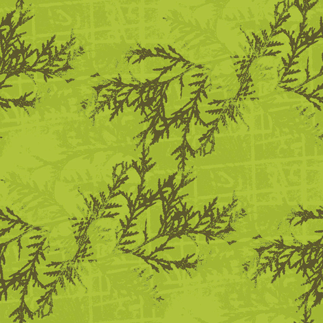 Ever Green fabric by donna_kallner on Spoonflower - custom fabric