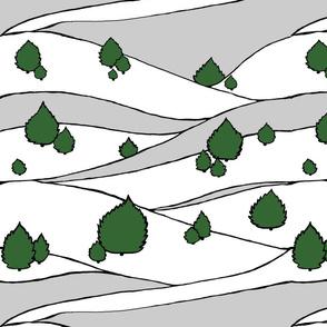 cedartreeswhitegrey