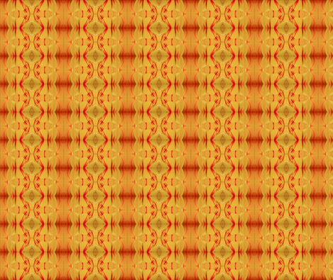 Yellow and Red Tulips fabric by glennis on Spoonflower - custom fabric
