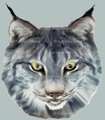 the wild cat wild animal fabric