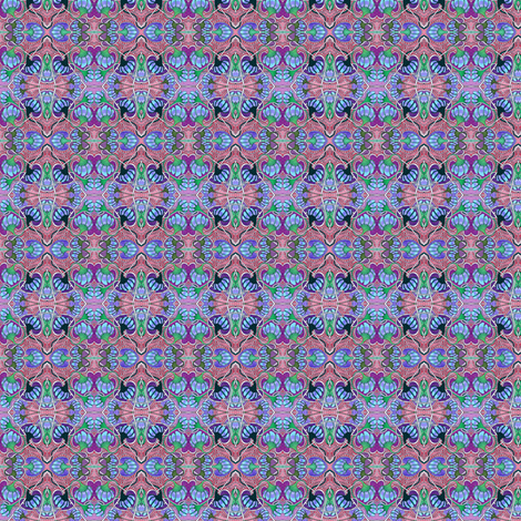 Raspberry, Blueberry, Diamond Jam (tiny doll clothes scale) fabric by edsel2084 on Spoonflower - custom fabric