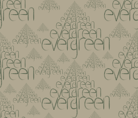 Evergreen fabric by brandymiller on Spoonflower - custom fabric