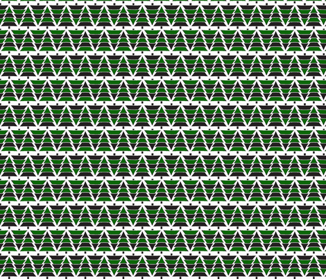 A Forever Evergreen fabric by thatrossiart on Spoonflower - custom fabric