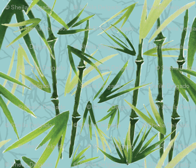 Bamboo is Winter's Friend