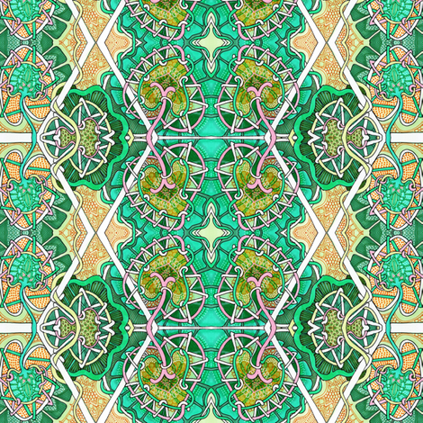 Green With Envy fabric by edsel2084 on Spoonflower - custom fabric
