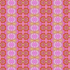 Pinky's Ladder (pink zig zag vertical stripe)