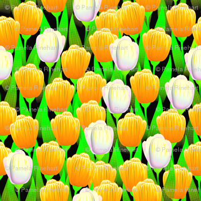 TULIPS BRIGHT GOLD