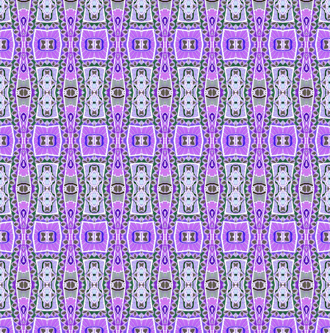 Retro Fifties Purple Vertical Stripe fabric by edsel2084 on Spoonflower - custom fabric