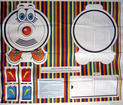 Cartoon Smoke Detector for Fire Safety Education