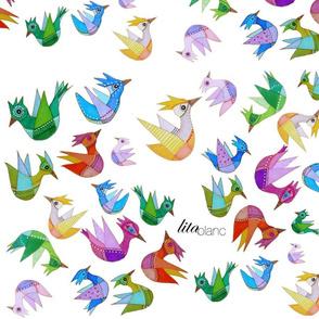 Birds by Lita Blanc