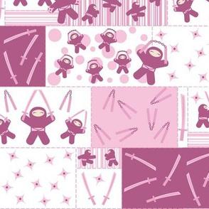 Super Pink Ninja Warriors! (Block)
