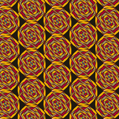 Roses of Port Said fabric by david_kent_collections on Spoonflower - custom fabric