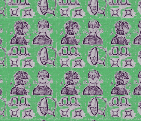 SlaveryMASK_Green fabric by kkitwana on Spoonflower - custom fabric