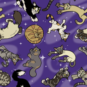 Floaty Cats in Space II