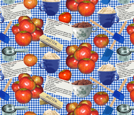 Gockoo's Apple Crisp fabric by coloroncloth on Spoonflower - custom fabric