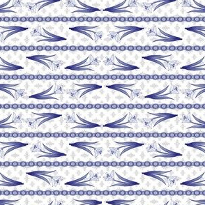 Tulip scarf stripe