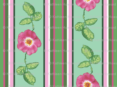 Rose_stripe_alternating_single_repeat