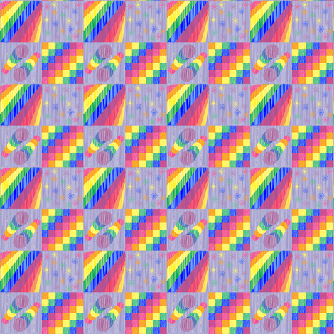 four_patterns_spoonflower_12_22_2011 fabric by compugraphd on Spoonflower - custom fabric