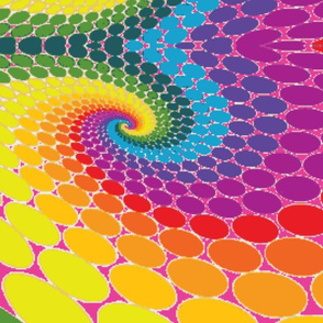 Happy 70er dots pink xxl