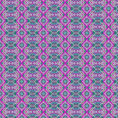 Flower Power Zig Zag Zowie fabric by edsel2084 on Spoonflower - custom fabric