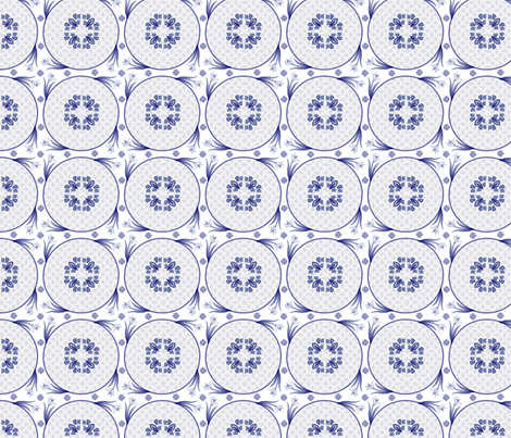 delft_embellishments fabric by glimmericks on Spoonflower - custom fabric