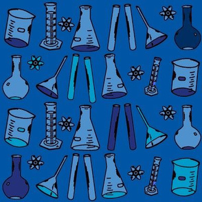 Chemistry Lab Blue