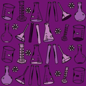 Chemistry Lab Purple