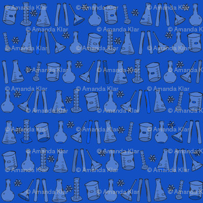 Blue Chemistry Lab Small
