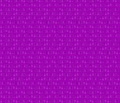 Purple Chemistry Lab Small fabric by nocodazole on Spoonflower - custom fabric