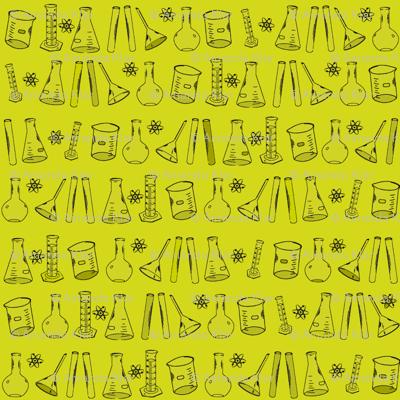 Yellow Chemistry Lab Small