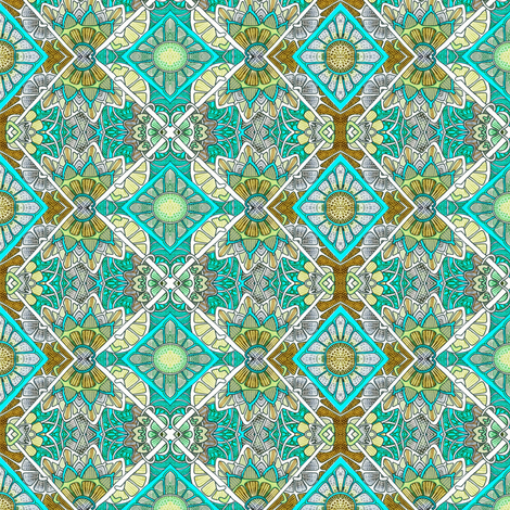Jade Glade fabric by edsel2084 on Spoonflower - custom fabric