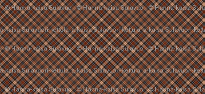 beige red brown tartan scotchmen's kilt