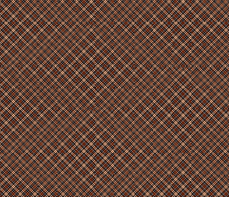 beige red brown tartan scotchmen's kilt fabric by vinkeli on Spoonflower - custom fabric