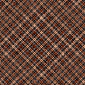 beige red brown tartan scotchmen's kilt