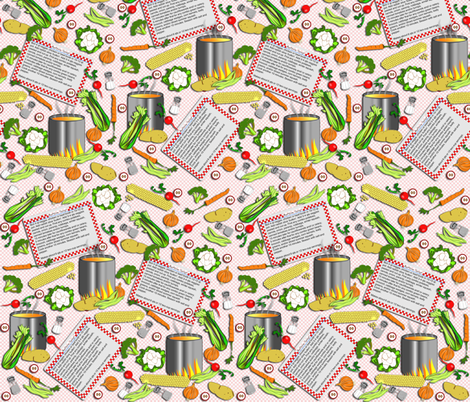 Button Soup fabric by eclectic_house on Spoonflower - custom fabric