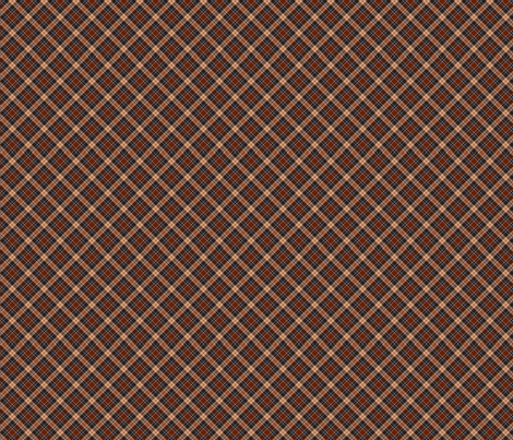 redbrown_beige_tartan_2 fabric by vinkeli on Spoonflower - custom fabric